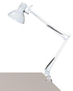 Rabalux Arno Schreibtischleuchte 1x E27 weiß