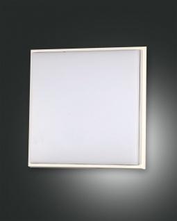 LED Deckenaußenleuchte weiß Fabas Luce Desdy 2300lm 240mm IP54