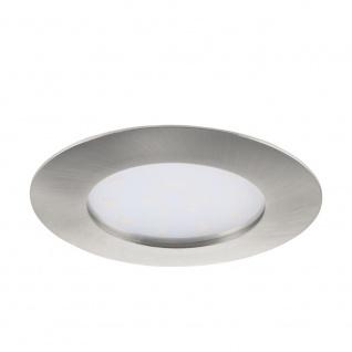 EGLO PINEDA LED Einbauspot Ø102, 1-flg., nickel-matt