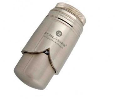 Schlösser Thermostatkopf Brillant M28 x 1, 5 Comap edelstahl 6004 00005