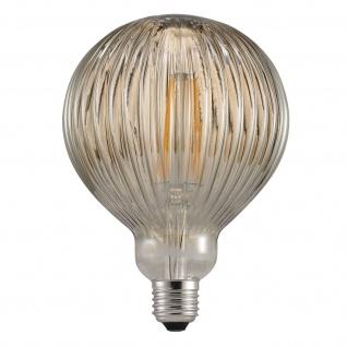 Nordlux Avra Striped E27 LED Leuchtmittel 140lm 2W 2200K 360° Rauch Filament