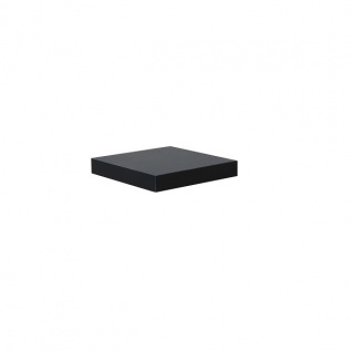 "bhp Wandboard "" Simple"", 3, 8cm, foliert, schwarz, inkl. Wandhalterung"