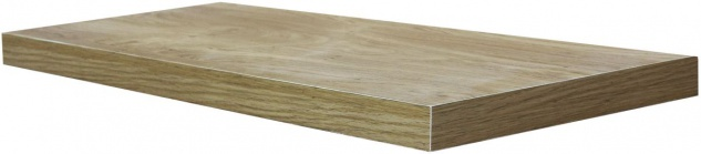 """bhp Wandboard """" Simple"""", 3, 8cm, foliert, sonoma eiche, inkl. Wandhalterung"""