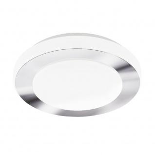 EGLO CARPI LED Deckenleuchte DM300, 1-flg., weiss, chrom