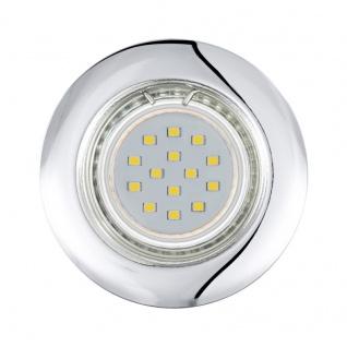 EGLO PENETO LED-Einbauleuchte 3er Set, starr, GU10 chrom