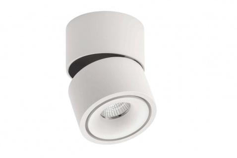 Lumexx Mini LED Aufbauleuchte weiß/schwarz 7W, 550lm, 2700k