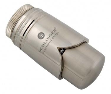 Schlösser Thermostatkopf Brillant für RTL Fussbodenheizung M30 x 1, 5 Heimeier edelstahl 6002 00025