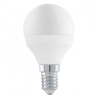 EGLO E14 LED Leuchtmittel 6W 470lm 3000K P45 Tropfen Stepdimmer