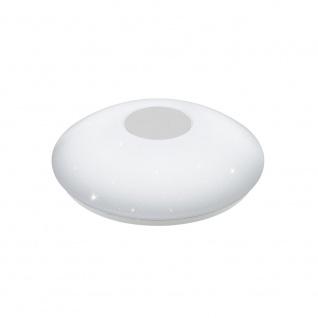 EGLO VOLTAGO 2 LED Deckenleuchte Ø300, Sternenhimmel, 1-flg., weiss