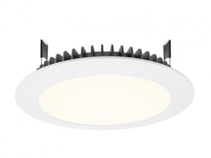 Deko Light LED Panel Round III 26 Einbaustrahler weiß 2690lm 4000K >80 Ra 100° Modern