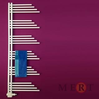MERT Design Badheizkörper Belluna 500 x 1000 mm, Farbe weiss