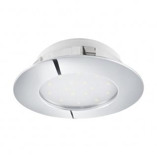 EGLO PINEDA LED Einbauspot Ø102, 1-flg., chrom