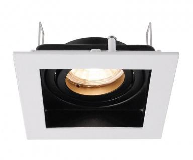 Deko Light Algol I Einbaustrahler schwarz / weiß 1 flg. GU5, 3 / MR16 Modern