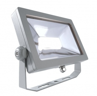 Deko Light FLOOD SMD I Außenstrahler LED silber IP65 2650lm 4000K >80 Ra 100° Modern