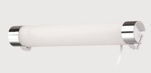 Briloner Energiespar-Spiegelleuchte in chrom, 1 flg . (T5 8W)
