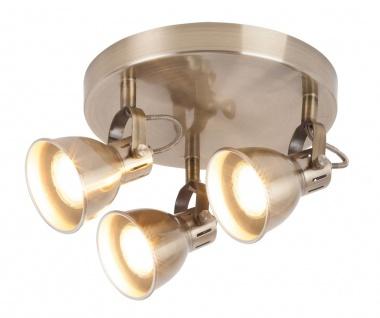 Rabalux Ralph Deckenspot 3x GU10 bronze