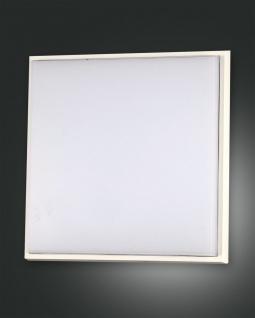 LED Deckenaußenleuchte weiß Fabas Luce Desdy 2800lm 300mm IP54