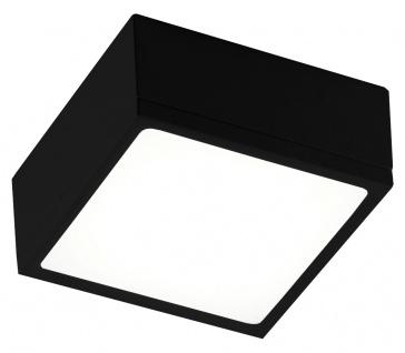 Luce Design Klio LED Deckenleuchte schwarz 1300lm 4000K 12x12x5, 9cm