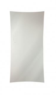 Lohema Design Glas Heizkörper elektrisch Flag 700W weiss 1063 x 532mm