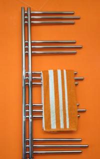 MERT Elektro Design Badheizkörper Nezife 500 x 1200 mm incl. Regler und Heizpatrone