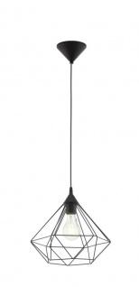EGLO TARBES Hängeleuchte E27 schwarz matt, 1-flg.
