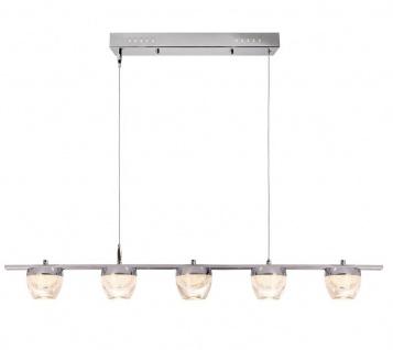 Deko Light Doradus V Pendelleuchte LED transparent, chrom 1800lm 3000K >80 Ra 200° Modern