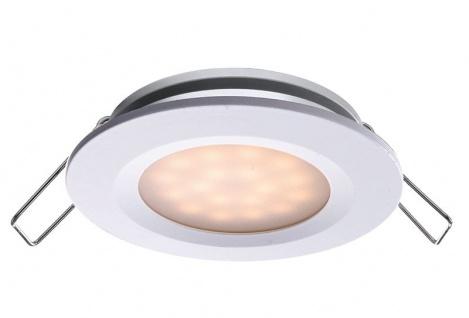 Deko Light Einbaustrahler LED weiß IP44 110lm 3000K >80 Ra 110° Modern