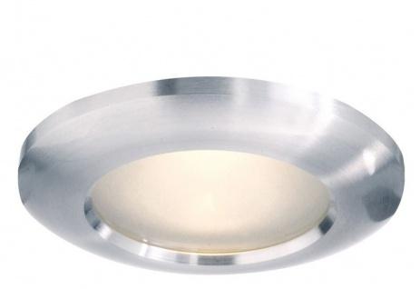 Deko Light Einbaustrahler silber, weiß 1 flg. GU10 Modern