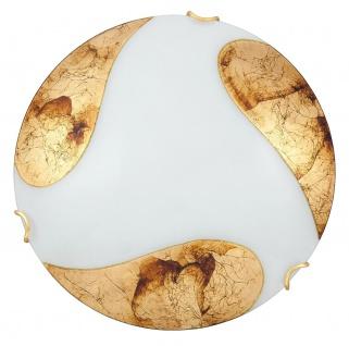 Rabalux Art Wand & Deckenleuchte 1x E27 weiß, gold