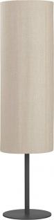 Terrassen Stehleuchte für Außen schwarz beige PR Home Agnar IP44 100x25cm E27