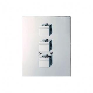 Ramon Soler Kuatro Unterputz- Thermostat mit 3 Wege Umsteller 4723 S