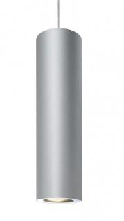 Deko Light Barro Pendelleuchte silber 1 flg. GU10 Modern