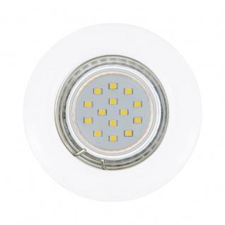EGLO PENETO LED-Einbauleuchte 3er Set, starr, GU10 weiss