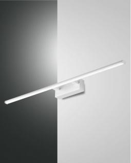 LED Spiegellampe weiß satiniert Fabas Luce Nala 1350lm IP44