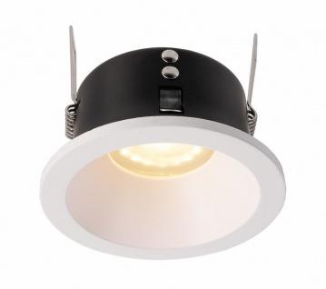 Deko Light Mizar I Einbaustrahler weiß matt IP44 1 flg. GU5, 3 - MR16 rund