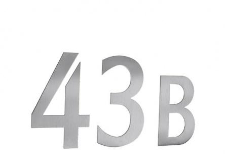 Smedbo Briefkastennummer 0 Edelstahl Selbstklebend Artikel Nr. B980