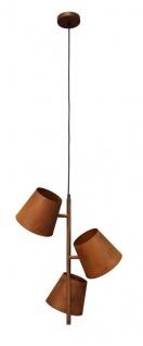 Luce Design Colt Hängeleuchte Edelrost Optik E27 31, 5x63x26, 5cm