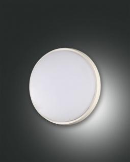 LED Deckenlampe außen weiß Fabas Luce Olly 180mm 900lm IP54