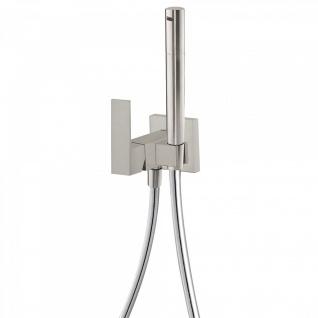 Tres Cuadro Exclusive Unterputz Einhebel WC Hygiene Brause edelstahl 006.123.01.AC