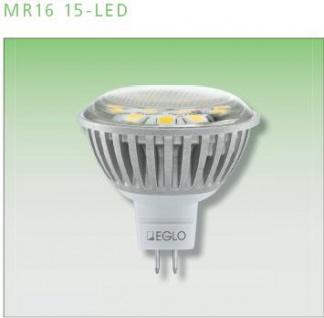EGLO LED MR16 / GU5, 3 warmweiß Leuchtmittel 3 W 15 Smd-led`s 1Stk.