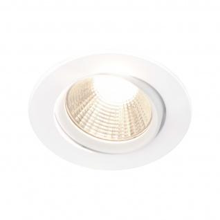 LED Einbauleuchte weiß Nordlux Dorado 3er Set a 345lm 2700K dimmbar