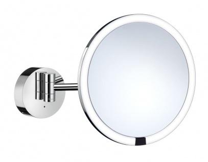 Smedbo Outline Kosmetikspiegel berührungslos mit Dual LED-Beleuchtung PMMA rund FK487EP