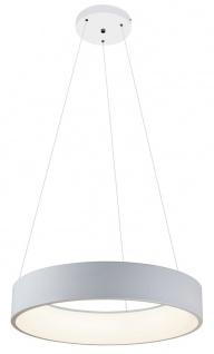 Rabalux Adeline LED Pendelleuchte matt weiß 600mm indirektes Licht rund