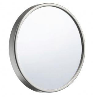 Smedbo Outline Lite Kosmetikspiegel 12-Fach mit Saugnapf aus Kunststoff silber 130mm FS622