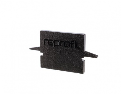 Deko Light Endkappe H-ET-01-08 Set 2 Stk für Profil schwarz