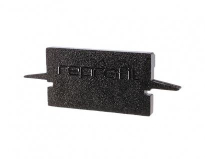 Deko Light Endkappe H-ET-01-15 Set 2 Stk für Profil schwarz