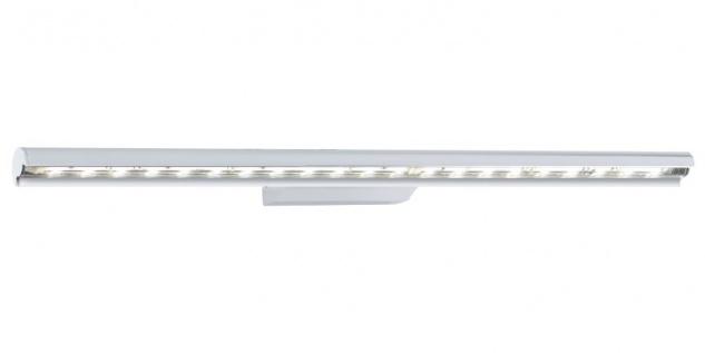 EGLO TERROS LED Wandleuchte, 570mm, chrom, klar