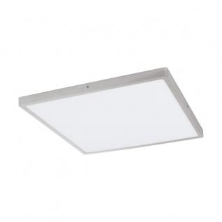 LED Deckenleuchte eckig EGLO FUEVA 1 silber 500x500mm 3000K