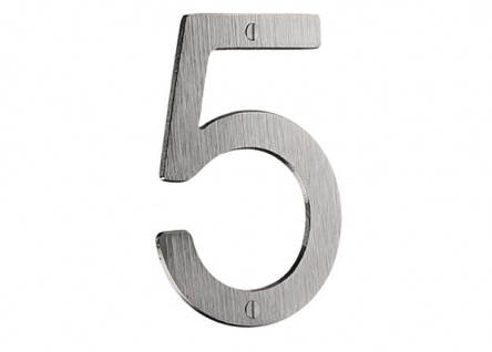 Smedbo Hausnummer 1 Mattverchromt Artikel Nr. V981