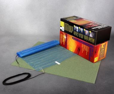 ARak-Dünnbettheizmatte LAMINAT für den Innenbereich 0, 75m² bis 10m² mit 200W je m²